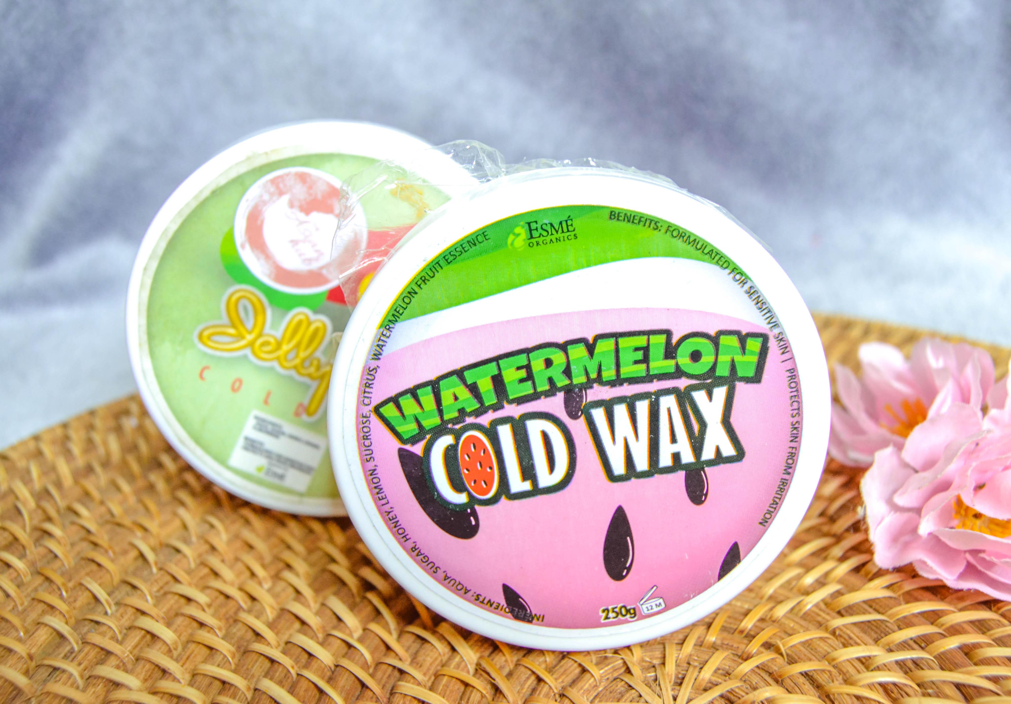Esme organics cold wax review | belleandbrushes