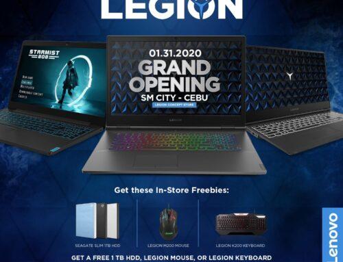 Legion Concept Store SM Cebu Grand Opening