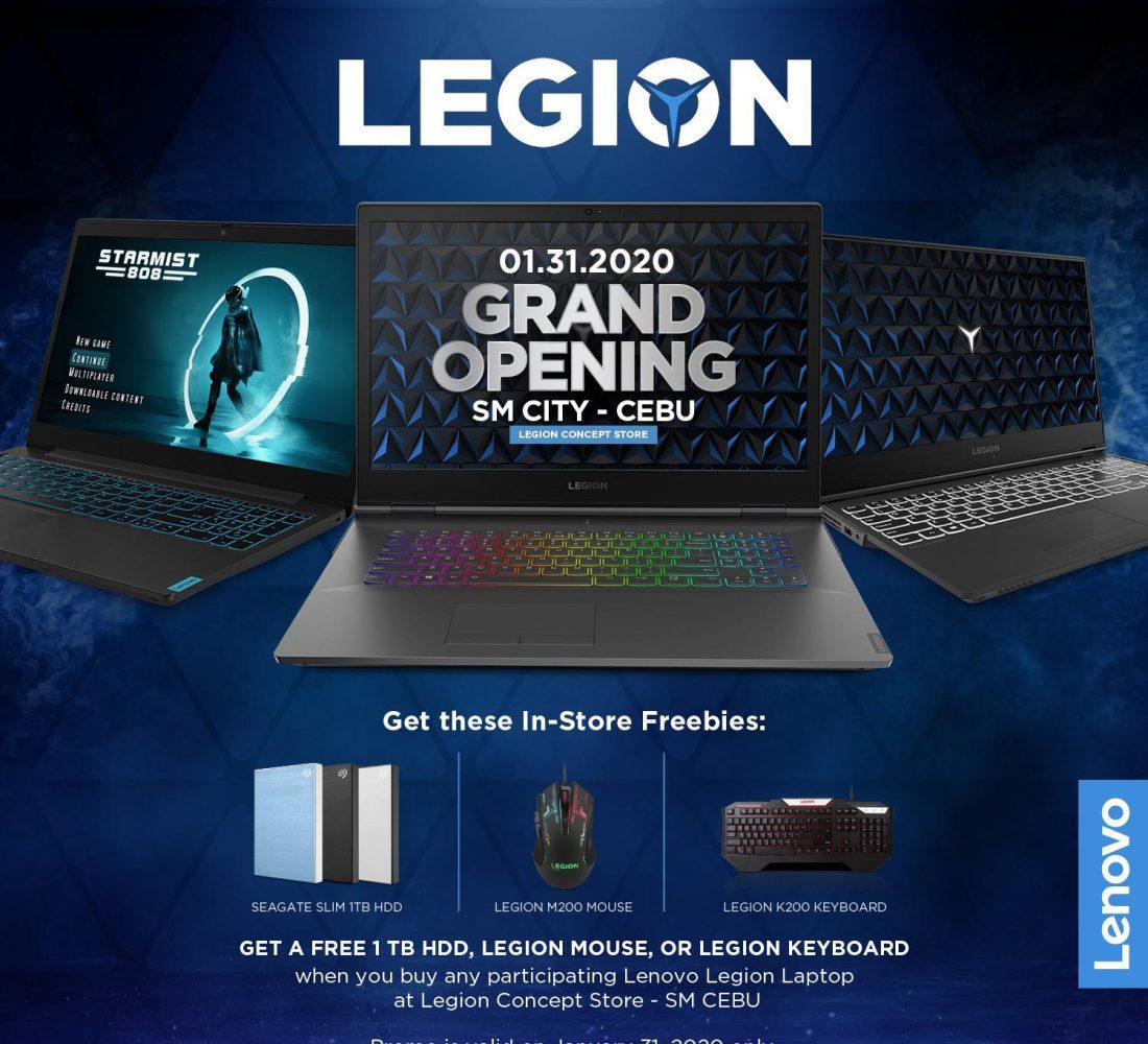 Legion Grand Opening